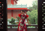 Talented female designer offers ao dai designs