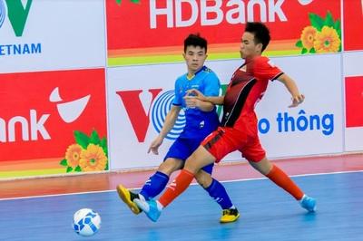 Giải Futsal VĐQG 2019: Sahako tạm chiếm ngôi đầu