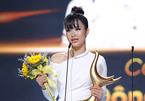 Đông Nhi bật khóc nhận giải 'Ca sĩ của năm' tại Cống hiến 2019