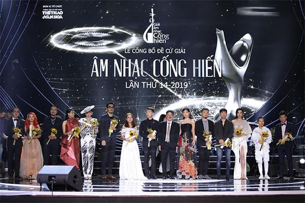 Đông Nhi,Cống hiến,Tóc Tiên,Bích Phương,Hà Anh Tuấn