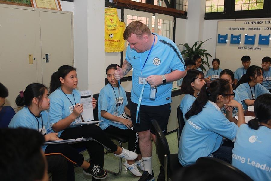 Man xanh lại đào tạo nhà lãnh đạo trẻ tại Việt Nam