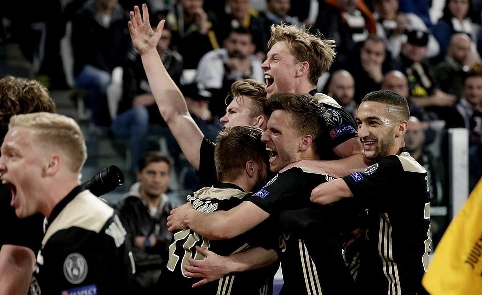 Juventus vs Ajax,Ronaldo