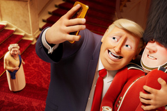 Tặng vé ra mắt phim hoạt hình có sự xuất hiện của Donald Trump