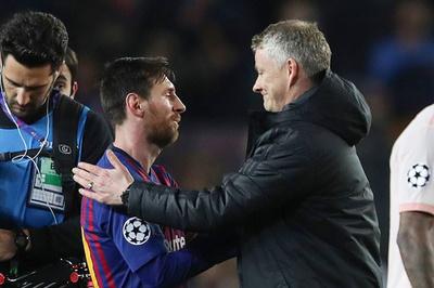 """Solskjaer: """"MU thua Barca vì Messi quá đỉnh"""""""