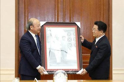 Củng cố quan hệ hữu nghị Việt Nam - Triều Tiên