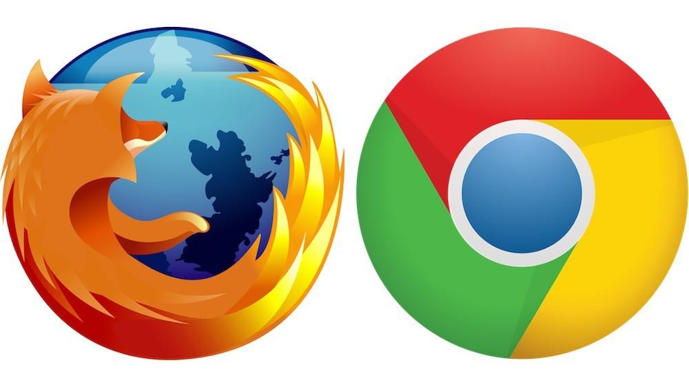 Firefox,Google,Chrome