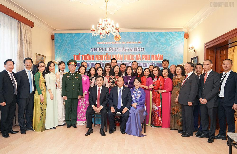 Thủ tướng Nguyễn Xuân Phúc,Nguyễn Xuân Phúc,Czech
