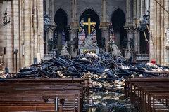 Vụ cháy Nhà thờ Đức Bà Paris: Hàng chục điều tra viên rốt ráo tìm nguyên nhân