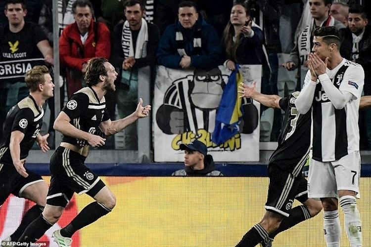 Ajax khiến Ronaldo, Juventus khóc hờn: Lẽ ra phải thắng 4-1