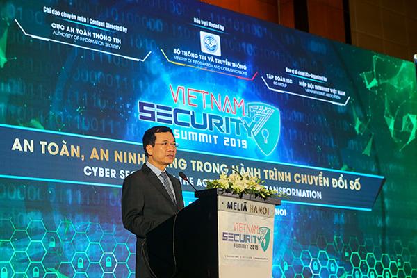 An ninh mạng,An toàn thông tin,Bộ trưởng Nguyễn Mạnh Hùng