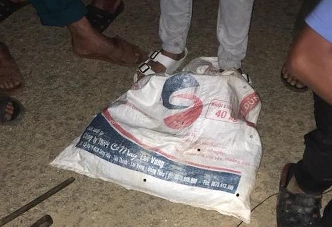 Thanh niên Quảng Nam bị đánh bất tỉnh bên bao tải chó bắt trộm