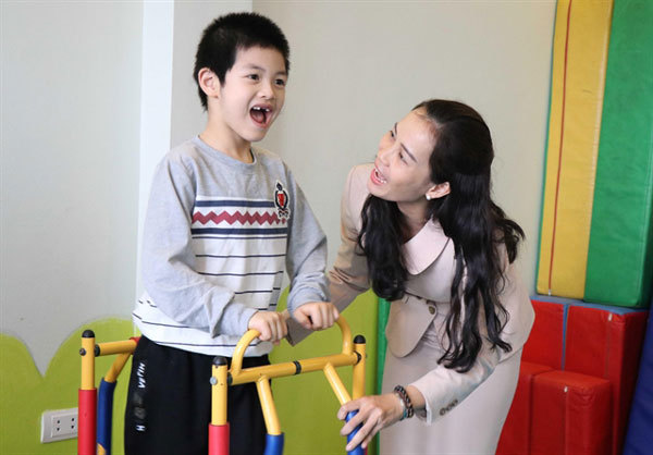 """Mum"" to hundreds of children with autism"