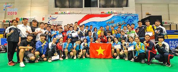 Vietnam dominate regional karate champs