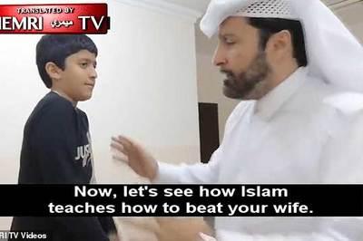 Công chúng sôi sục vì video dạy đàn ông đánh vợ