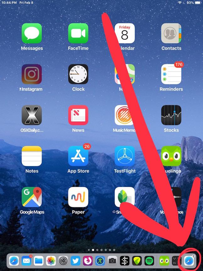 Cách chuyển nội dung trang web từ iPhone sang iPad và ngược lại