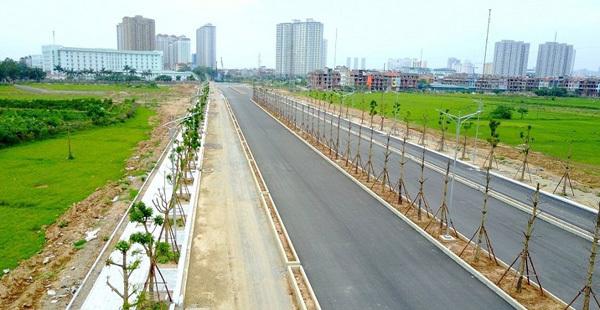 Đường trục Tây Nam Hà Nội đến Pháp Vân-Cầu Giẽ sắp hoàn thành