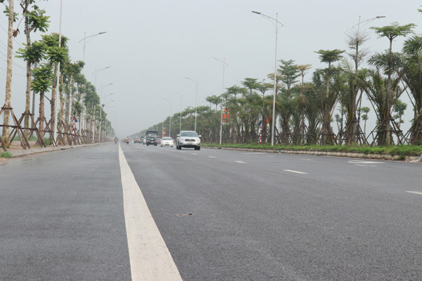 Đường trục qua chung cưThanh Hà - Pháp Vân-Cầu Giẽ sắp hoàn thành