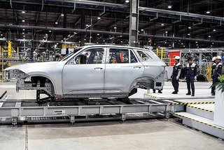 Pedal to the metal in auto production