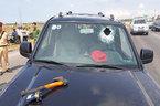 Tài xế dùng búa tấn công, đâm xe làm 2 CSGT bị thương