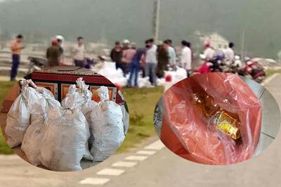 Nghệ An thu giữ gần 1 tấn ma túy vứt bên vệ đường