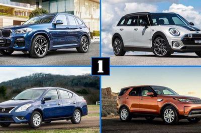 Top 10 mẫu xe bị bán lại nhiều nhất chỉ sau một năm sử dụng