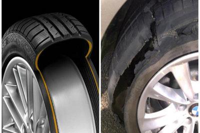 'Khóc dở mếu dở' với loạt nhược điểm của lốp runflat ô tô