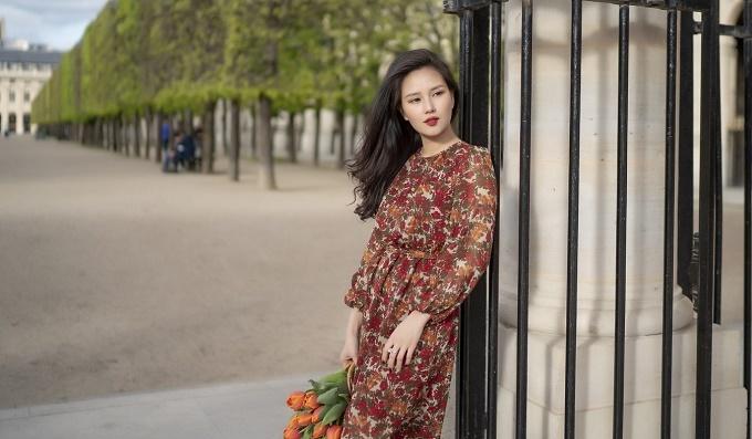 MC Huyền Châu,MC VTV,Du lịch Pháp