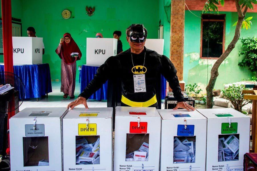 Indonesia,bầu cử Indonesia,tổng tuyển cử