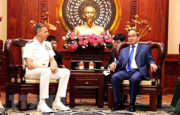 USINDOPACOM Commander welcomed in Ho Chi Minh City