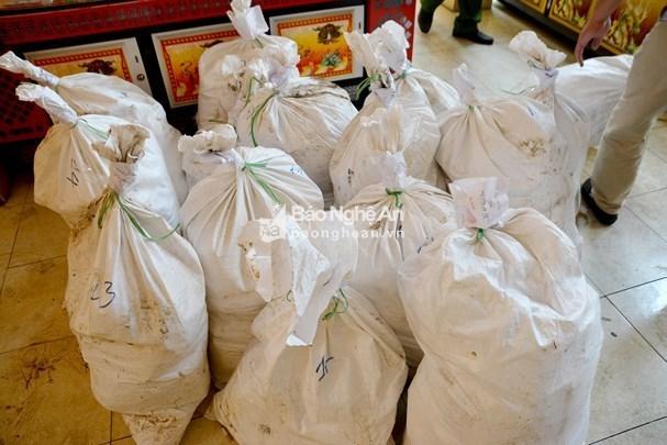 Nghe An police seize huge amount of trafficked drug