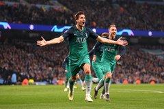 """Tottenham hất Man City ra khỏi C1 sau màn rượt đuổi """"điên rồ"""""""