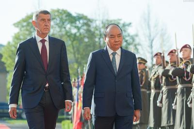 Việt Nam, CH Czech ra Tuyên bố chung