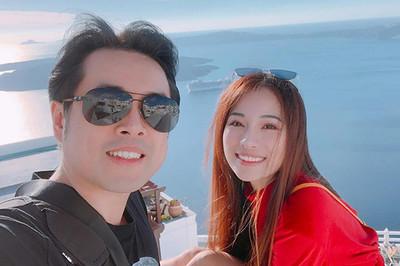 Dương Khắc Linh và bạn gái kém 13 tuổi thoải mái tình tứ trên MXH