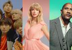 The Rock, Taylor Swift, BTS lọt vào top 100 nhân vật ảnh hưởng nhất thế giới
