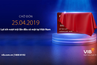 Thẻ tín dụng mới hứa hẹn gây sốt năm 2019