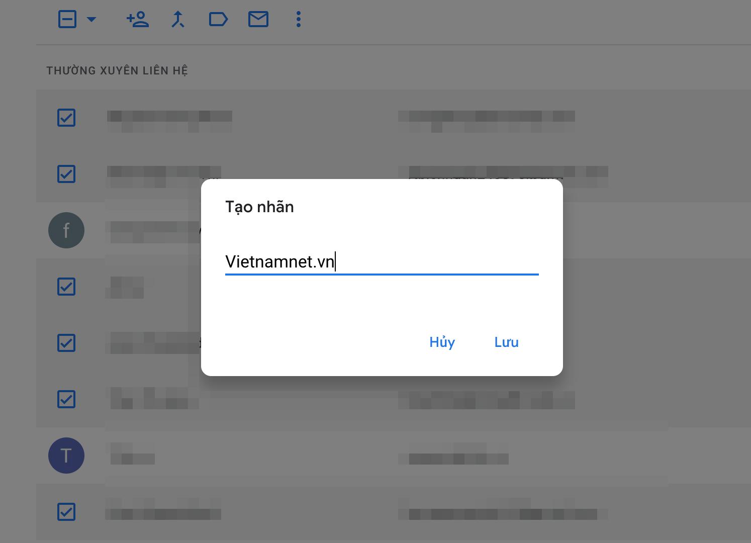 Dùng Gmail gửi email cho 500 người cùng lúc