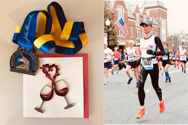 First Vietnamese woman completes Boston Marathon