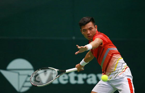 Nam wins first round of Madrid tennis event