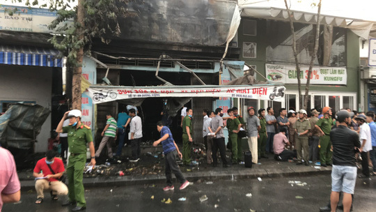 Three people killed in house fire in Hue