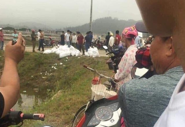 Nearly a tonne of meth found on roadside in Nghe An