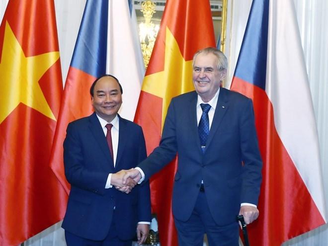 Vietnam, Czech Republic issue joint statement