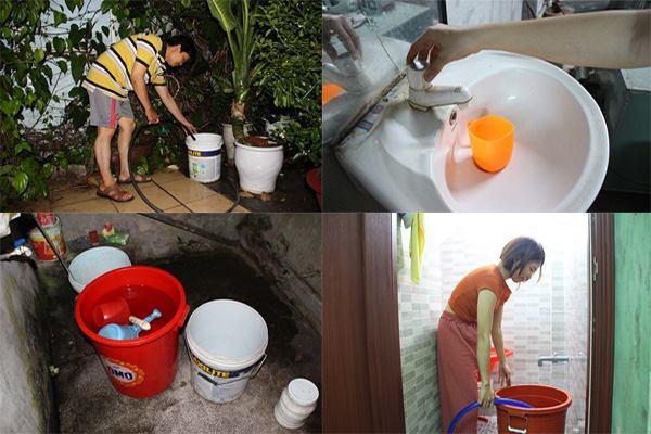 Mất nước, người Đà Nẵng méo mặt xách xô chạy quanh