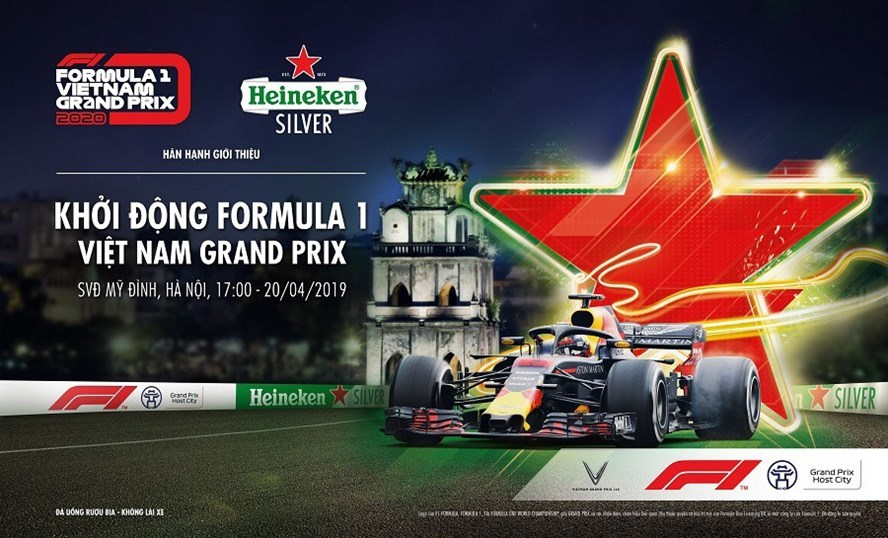 F1 Vietnam Grand Prix kick-off event held at My Dinh Stadium