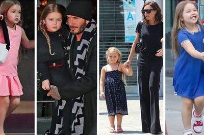 Cuộc sống quý tộc phủ kín hàng hiệu của con gái út nhà Beckham