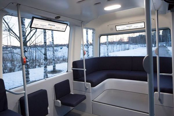 Khám phá xe buýt tự lái Gacha tại Phần Lan