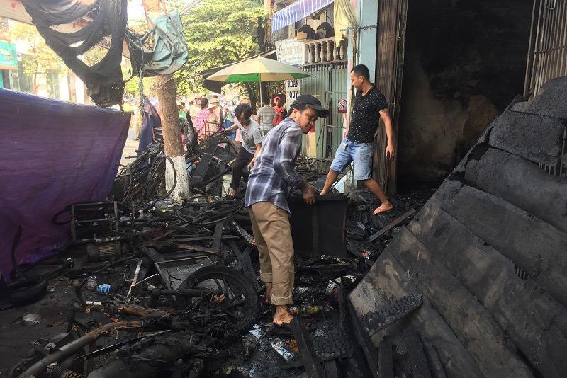 Đã xác định nguyên nhân cháy cửa hàng, vợ chồng cùng con gái thiệt mạng