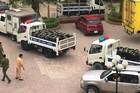 Cả đoàn xe cảnh sát giao thông chở tang vật gần tấn ma túy ở Nghệ An