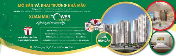 Hình dung chân thực về tổ ấm tại Xuân Mai Tower Thanh Hóa