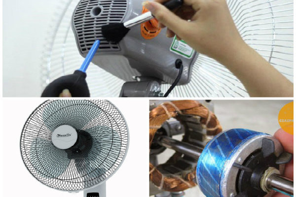 Quạt điện quay chậm, yếu và cách khắc phục tại nhà đơn giản, hiệu quả