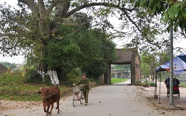 An excursion to Duong Lam ancient village